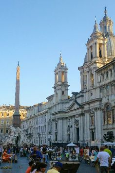 Rom City Guide: Die Piazza Navona ist mit eines der schönsten Plätze in Rom. #italy #italien #rome #rom (scheduled via http://www.tailwindapp.com?utm_source=pinterest&utm_medium=twpin&utm_content=post160004409&utm_campaign=scheduler_attribution)