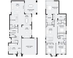 Metricon   Laguna 38 Floor Plans