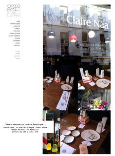 ...ici les vases à PARIS: LA BOUTIQUE 10 rue de Birague 75004 Paris ___________________ Metro : St Paul ou Bastille — presso Place de la Bastille.