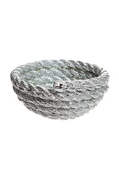 coil rope bowl by flora and henri
