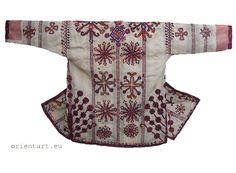 antique afghanistan Nomadic man's jacket Paktya coat  pashtun ( Mangal shalai )