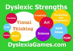 These are just a few strengths that people with dyslexia commonly have. There are so many more!