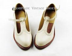 HandMade Vintage Shoes Leather Handcrafted Oxford