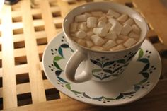 Hot Chocolate - better with a million marshmallows!