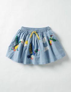 Adventure Sequin Skirt Boden