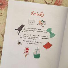 """""""Bienvenidos a mis juegos con la madre naturaleza, donde doy mi energía creativa con pasión. Mira, comparte y disfruta de las páginas de > y recuerda esas cosas que olvidaste una vez que te hacían feliz. Mi nombre es Enid Drole, y hoy me duele la tripa..."""" https://www.amazon.es/dp/1520976232  P.D.: Muy pronto #sorteo de mi cuento """"Enid"""". #vegan #vegano #recetasveganas #recetas #manualidades #cuento #enid #naturaleza #ilustracion #illustration #cat #gatos #abejas #secretos #jueg..."""