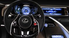 The interior of the Lexus LF-LC concept car that debuted at the 2012 North American International Auto Show. Toyota is a brand better known for reliability than cutting edge anything, but that could change next year. Rather than hopping on the LTE bandwagon, Toyota is reportedly leapfrogging over the competition by [...]