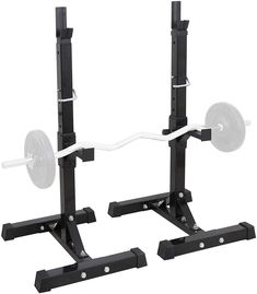 Best Seller Max Load Pair Adjustable 41 Rack Sturdy Steel Squat Barbell Free Bench Press Stands Gym/Home Gym Portable Dumbbell Racks Stands (one Pair/Two pcs) online - Trendyclothingonline Pull Up Rack, Weight Rack, Squat Stands, Dumbbell Rack, Barbell Weights, Strength Training Equipment, Gym Equipment, Weight Benches, Power Rack