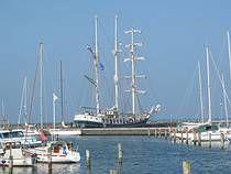 Talship de Thalassa. #Zeilen #schip #Waddenzee Sailing Ships, Sailboat, Tall Ships
