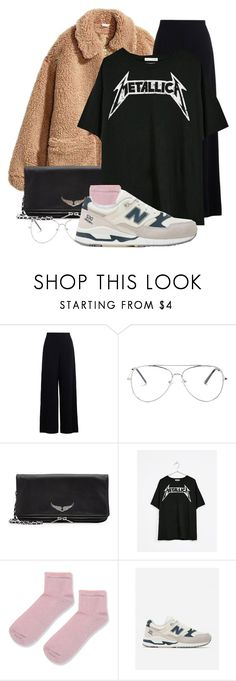 """deja vu"" by merlemarienielsen ❤ liked on Polyvore featuring H&M, Zimmermann, Zadig & Voltaire, Bershka, Topshop and New Balance"
