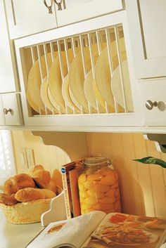 Display your favorite dishware, and make it easily accessible too.