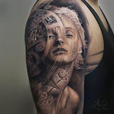 Tatuagens com efeitos tridimensionais impressionantes de Arlo DiCristina
