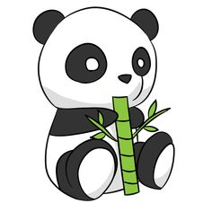 Check out the Panda Image Drawing available in HD resolution. You can easily share this amazing drawing image with your friends and family. Panda Kawaii, Niedlicher Panda, Cartoon Panda, Cute Cartoon, Panda Illustration, Disney Drawings, Cartoon Drawings, Easy Drawings, Panda Drawing Easy