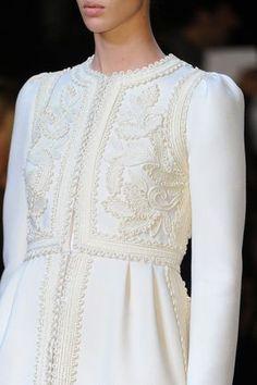Valentino Fall 2012 Ready-to-Wear collection by Maria Grazia Chiuri and Pier Paolo Piccioli