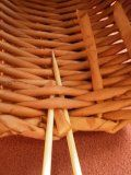 pletení z papíru zakončení zastrčení ruliček