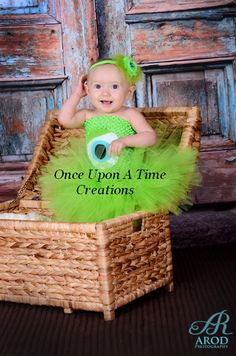 Mike Wazowski Inspired Tutu Dress - Birthday Outfit, Halloween Costume - Baby Girl 0 3 6 9 12 18 24 Months - Disney Monsters Inc Inspired