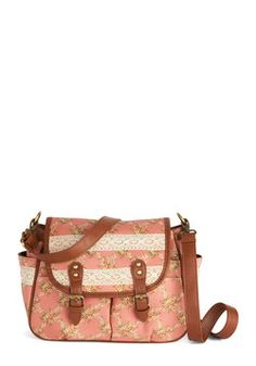 Exploring the Floral Reef Satchel 64.99, #ModCloth