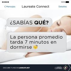¿Tardas mucho en dormirte? ¿Sabías que la persona promedio tarda 7 minutos en hacerlo? #curiosidad