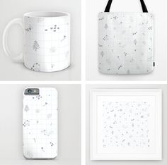 woodland, animals, cute, pattern, society6,  http://society6.com/product/woodland-kvh_print#1=45