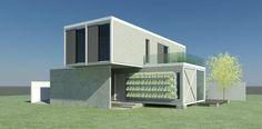 PROJETO ARQUITETÔNICO LOCAL: CURITIBA - PR ANO: 2014 STATUS: EM ANDAMENTO Casa Modelo feita em Container, método construtivo e sustentável, que garante uma obra rápida, limpa, sem desperdício e até...