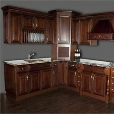 Are Wood Cabinets Right for your Kitchen or Bath? Kitchen Cabinetry, Wood Cabinets, Cabinet Island, Rev A Shelf, Island Design, Shabby Chic Style, Storage Solutions, Contemporary, Modern