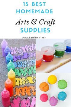 15 Best Homemade Arts & Crafts Supplies