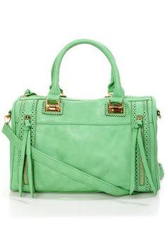 b7278a62890a Brogue-in  Dreams Mint Handbag by Urban Expressions