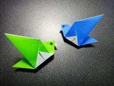 簡単なのにかわいい!折り紙で小鳥を折る方法   nanapi [ナナピ]