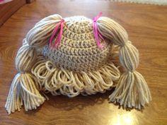 Fait main chapeau de poupée au Crochet par CreativeCrochet247