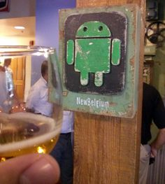 Check this out! The Android logo popped up on a New Belgium Brewery sign. Take a peek at the Search in Pics from this week: http://selnd.com/19ENTwn #android #tech #beer