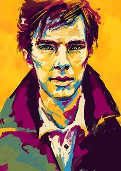 Pop art Sherlock