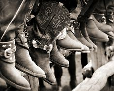 Cowboy Spectators Art Print by Jill Fleming | society6.com