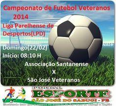 Portal Esporte São José do Sabugi: São José Veteranos e Seleção Santanense fazem o pr...