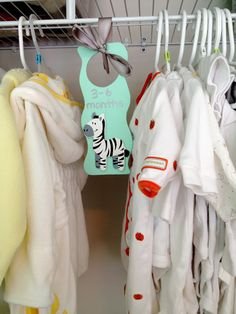 baby clothes dividers