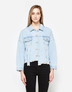 Need Supply: Cut Off Denim Jacket
