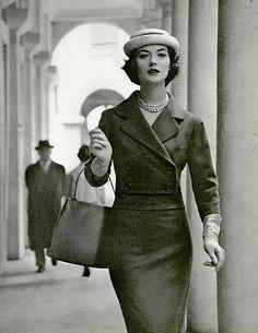 1958, Rose Marie in Jean Patou