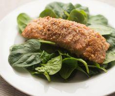 Honey Glazed Salmon with Cinnamon Macadamia Crust Cinnamon Eats Healthy Dessert Recipes, Paleo Recipes, Whole Food Recipes, Paleo Meals, Paleo Diet, Healthy Meals, Best Seafood Recipes, Healthiest Seafood, Fish Recipes