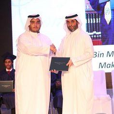 Ahmed bin Maktoum bin Rashid Al Maktoum y su hermano, Saeed bin Maktoum bin Rashid Al Maktoum, graduación de Ahmed, 18/05/2017. Foto: rock3li