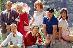Gilligan's Island Who could forget the amazing show, Gilligan's Island and our favorite S. Minnow's castaways. With all the reruns, the show has dominated our televisions. Tina Louise, 1960s Tv Shows, Old Tv Shows, Giligans Island, Film Quiz, Russell Johnson, Mejores Series Tv, We Fall In Love, Showgirls