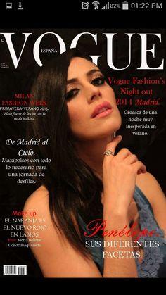 TP Eamoda Simulación Tapa Vogue  She Dahiana Styling & Makeup by ME ( facebook / Monica Asesoria de Imagen y Mas )