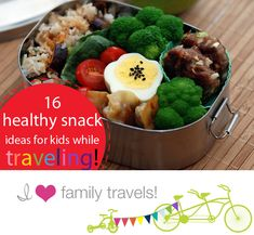 16 Healthy Snack Ideas for Kids on Trips (and two not so great ones)