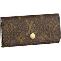 Louis Vuitton Key Holders Monogram Canvas # 112200-