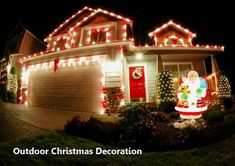 50 Best Outdoor Christmas Decorations For 2018 Christmas throughout dimensions 1200 X 848 Best Christmas Lights For Outside House - Christmas brings a Best Outdoor Christmas Decorations, Christmas Lights Outside, Christmas House Lights, Hanging Christmas Lights, Decoration Christmas, Decorating With Christmas Lights, Christmas Porch, Christmas Design, Outdoor Decorations