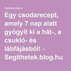 zselatin ital - Segithetek.blog.hu Arthritis, Health, Blog, Salud, Health Care, Healthy