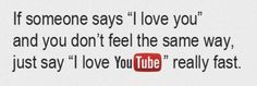 That awkward moment when people confess their love to a website