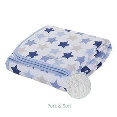 In der Babydecke Pure & Soft von Little Dutch schläft jedes Baby einfach gut und sicher. Im Inneren ist die Baby- bzw. Wiegendecke kuschelig weich gearbeitet. Die Little Dutch Decke für Babys ist getestet und luftdurchlässig, somit kann...