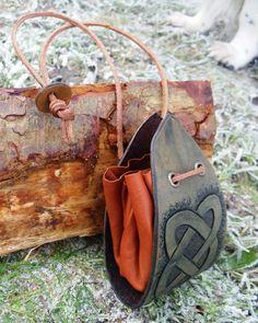 Celtic purse by Half-Goat.deviantart.com