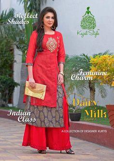 https://www.suratfabric.com/shop/kajal-style-dairy-milk-vol-2-kurti-wholesale-catalog-14-pcs/