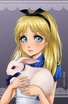 disney-ilustracao-princesas-retratos-animes-015