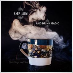 Magic mug for coffee or tee or something magic😜😜😜 Steampunk style, polymers clay, acrylic painted via Keep Calm And Drink, Craft Shop, Polymers, Steampunk Fashion, Home Art, Christmas Ideas, Polymer Clay, Unique Gifts, Tutorials